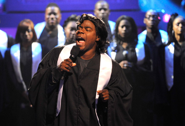 tracy-morgan-choir-robe