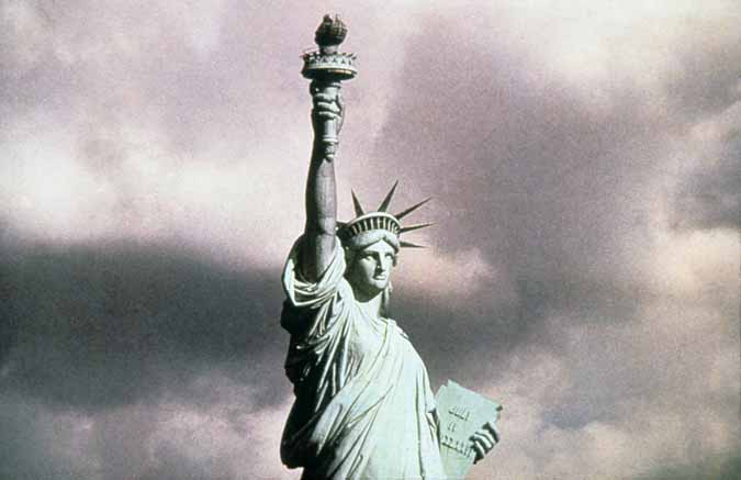 statue of liberty facts. The Statue of Liberty was